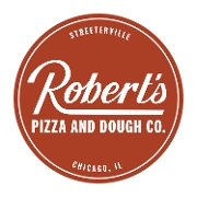 This is the restaurant logo for Robert's Pizza and Dough Company