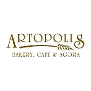 This is the restaurant logo for Artopolis Bakery, Cafe & Agora