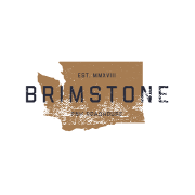This is the restaurant logo for Brimstone PNW