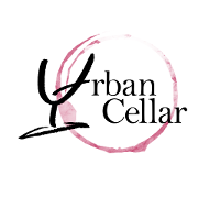 This is the restaurant logo for The Urban Cellar - Wine Bar, Grill & Market
