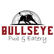 This is the restaurant logo for Bullseye Pub & Eatery