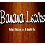 This is the restaurant logo for Banana Leaves