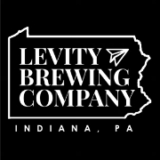 This is the restaurant logo for Levity Brewing Co.
