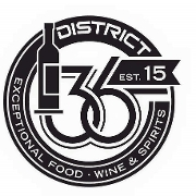 This is the restaurant logo for District 36
