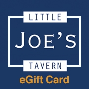 This is the restaurant logo for Little Joe's