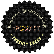 This is the restaurant logo for Butterhorn Bakery & Cafe