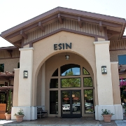 This is the restaurant logo for Esin Restaurant & Bar