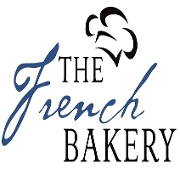 This is the restaurant logo for The French Bakery