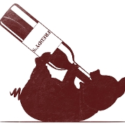 This is the restaurant logo for Freddy's Wine Bar