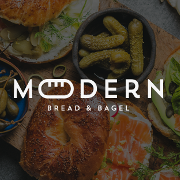 This is the restaurant logo for Modern B&B / Arba