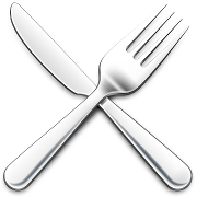 This is the restaurant logo for Crossroads Collective