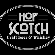 This is the restaurant logo for Hop Scotch