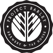 This is the restaurant logo for Project Barley Brewery
