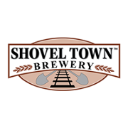 This is the restaurant logo for Shovel Town Brewery