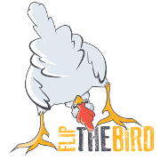 This is the restaurant logo for Flip The Bird - Beverly