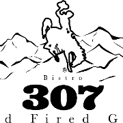 This is the restaurant logo for Bistro307