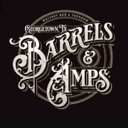 This is the restaurant logo for Barrels and Amps