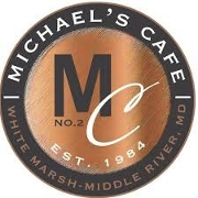 This is the restaurant logo for Michael's Cafe