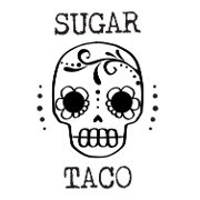 This is the restaurant logo for Sugar Taco