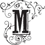 This is the restaurant logo for Mayfield Bakery & Cafe
