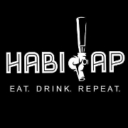 This is the restaurant logo for The HabiTap
