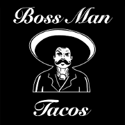 This is the restaurant logo for Boss Man Tacos