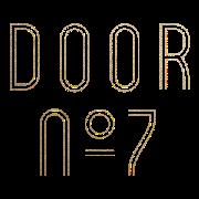 This is the restaurant logo for Door No 7