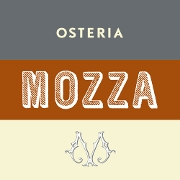 This is the restaurant logo for Mozza