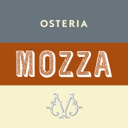 This is the restaurant logo for Osteria Mozza