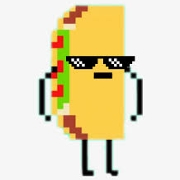 This is the restaurant logo for Metro Taco