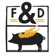 This is the restaurant logo for Foreign & Domestic