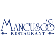 This is the restaurant logo for Mancuso's