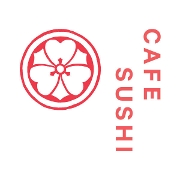 This is the restaurant logo for Cafe Sushi