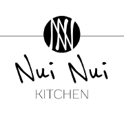 This is the restaurant logo for Nui Nui Kitchen