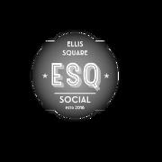 This is the restaurant logo for Ellis Square Social