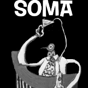 This is the restaurant logo for Soma