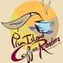 This is the restaurant logo for Plum Island Coffee Roasters