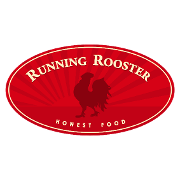This is the restaurant logo for Running Rooster