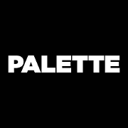 This is the restaurant logo for Palette