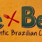This is the restaurant logo for Rice x Beans