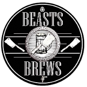 This is the restaurant logo for Beasts & Brews