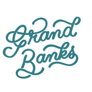 This is the restaurant logo for Grand Banks
