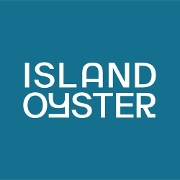 This is the restaurant logo for Island Oyster