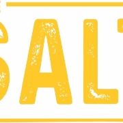 This is the restaurant logo for The Salt