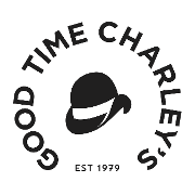 This is the restaurant logo for Good Time Charley's