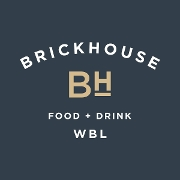 This is the restaurant logo for Brickhouse Food & Drink