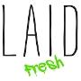 Restaurant logo for Laid Fresh