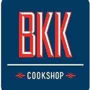 This is the restaurant logo for BKK Cookshop