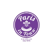 This is the restaurant logo for Paris In Town®