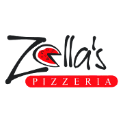 This is the restaurant logo for Zella's Pizzeria